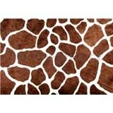 Vliesové fototapety žirafia koža, rozmer 312 x 219 cm