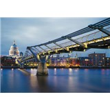Fototapety Millennium Bridge, rozmer 368 x 254 cm