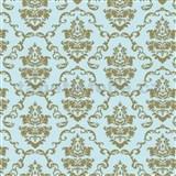 Samolepiace tapety ornamenty zlaté - 67,5 cm x 15 m