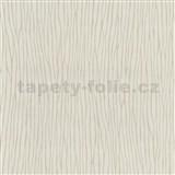 Vliesové tapety na stenu Graphics Alive - nepravidelné prúžky svetlo hnedé