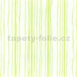 Vliesové tapety na stenu Graphics Alive - prúžky zelené