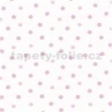 Tapety Happy Kids - ružové kvetinky