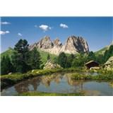 Fototapeta Dolomiten, rozmer 368 x 254 cm