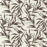 Tapety na stenu Labyrinth - bambus - hnedý - ZĽAVA