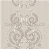 Tapety na stenu Lacantara2 - ornamenty - béžové