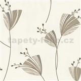 Tapety Lacantara 3 - kvety hnedé