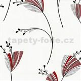 Tapety Lacantara 3 - kvety červené MEGA ZĽAVA