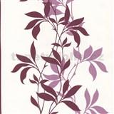 Tapety Lacantara 3 - stonky listov červené s leskom