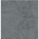 Tapety na stenu La Veneziana 3 štruktúrovaná sivo-modrá