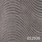 Tapety na stenu Andante Pria - vlnovky zemité s metalickým efektom