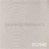Tapety na stenu Andante Pria - vlnovky krémovo-biele