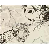Tapety vliesové The Best - Cheetah - biele - ZĽAVA