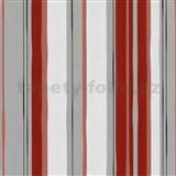 Tapety na stenu My Trend - pruhy - červené