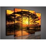 Obraz na plátne Austrália pri západe slnka 150 x 100 cm