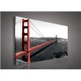 Obraz na stenu Golden Gate Bridge 75 x 100 cm