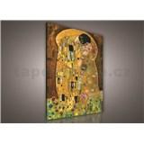 Obraz na stenu Gustav Klimt Bozk 75 x 100 cm