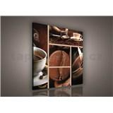 Obraz na stenu káva 80 x 80 cm