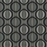 Tapety na stenu Orpheo - retro cibule hnedé