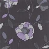 Tapety na stenu Poison - pivonka - fialová