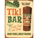 Retro tabule Tiki Bar 40 x 30 cm