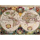 Retro tabule world map 40 x 30 cm