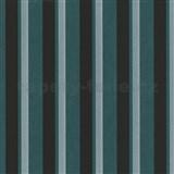 Vliesové tapety na stenu Studio Line - Magic Circles pruhy zeleno-čierne