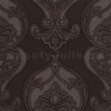 Vliesové tapety na stenu Studio Line - Graceful zámocký vzor zlato-hnedý s leskom