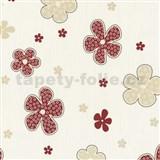 Tapety na stenu Timeless - kvety červené