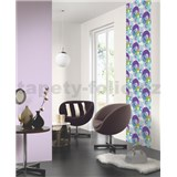 Tapetové design panely Wall Panel - Colorful Bubbles