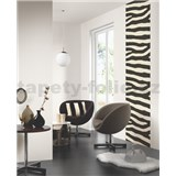 Tapetové design panely Wall Panel - Zebra Black