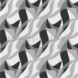 Tapety na stenu Wish 3D Abstract šedo-čierne