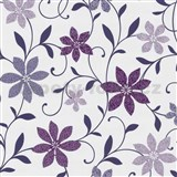 Tapety na stenu Wish kvety fialové