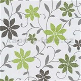 Tapety na stenu Wish kvety zelené