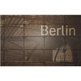 Luxusné vliesové fototapety Berlín - sépia, rozmer 418,5 x 270cm