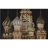 Luxusné vliesové fototapety Moskva - sépia, rozmer 418,5 x 270cm