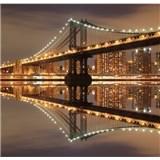 Luxusné vliesové fototapety New York - farebné, rozmer 279 x 270cm