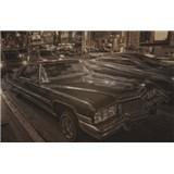 Luxusné vliesové fototapety Los Angeles - sépia, rozmer 418,5 x 270cm