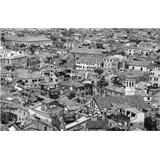 Luxusné vliesové fototapety Venice - čiernobiele, rozmer 418,5 x 270cm