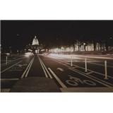 Luxusné vliesové fototapety Washington dc - sépia, rozmer 418,5 x 270cm