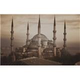 Luxusné vliesové fototapety Istanbul - sépia, rozmer 418,5 x 270cm
