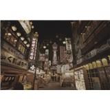 Luxusné vliesové fototapety Tokyo - sépia, rozmer 418,5 x 270cm
