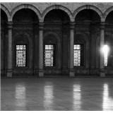 Luxusné vliesové fototapety Cairo - čiernobiele, rozmer 279 x 270cm