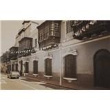 Luxusné vliesové fototapety Lima - sépia, rozmer 418,5 x 270cm