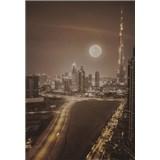 Luxusné vliesové fototapety Dubai - sépia, rozmer 186 x 270cm