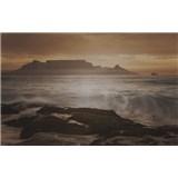 Luxusné vliesové fototapety Cape Town - sépia, rozmer 418,5 x 270cm