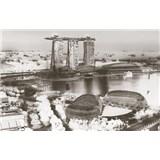 Luxusné vliesové fototapety Singapore - farebné, rozmer 418,5 x 270cm