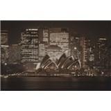 Luxusné vliesové fototapety Sydney - sépia, rozmer 418,5 x 270cm
