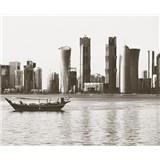 Luxusné vliesové fototapety Doha - farebné, rozmer 325,5 x 270cm