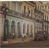 Luxusné vliesové fototapety Havana - sépia, rozmer 279 cm x 270 cm