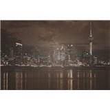Luxusné vliesové fototapety Auckland - sépia, rozmer 418,5 x 270cm